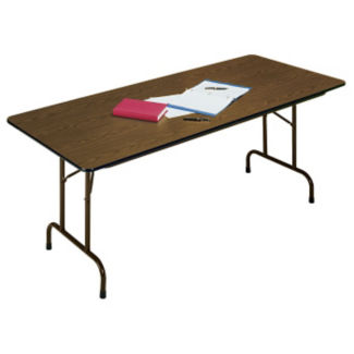 "Fixed Height Folding Table 18"" Wide x 96"" Long, D41052"