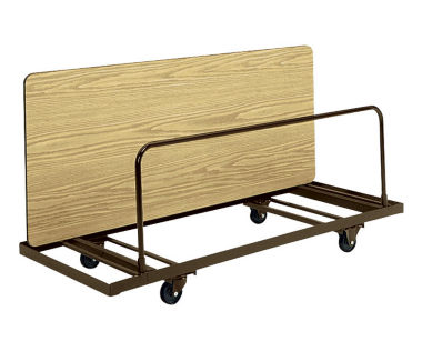 """Edge Stacking Table Truck 28"""" wide x 72"""" long, D41253"""