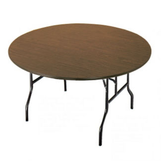 "Fixed Height Round Folding Table 48"" round, D41014"