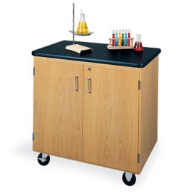 Rolling Demonstation Table And Cabinet, L70017