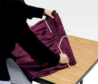 Table Skirt Hanger, V20066