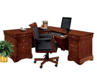 Executive L Desk-Right Return, D32144