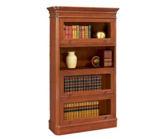 Bookcase with Four Glass Doors, B30376