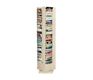 Steel Rotary Literature Rack 92 Pocket, D33012