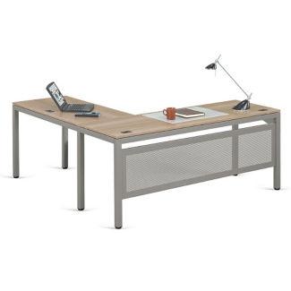 """At Work Executive L-Desk - 72"""" x 78"""", D30346"""