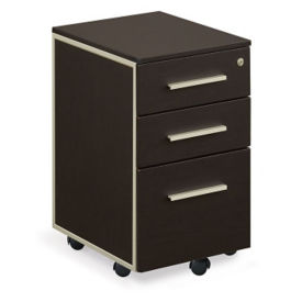 At Work Three Drawer Mobile File, L40753