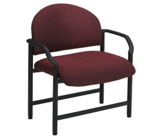 Oversized Guest Chair in Designer Fabric or Polyurethane, C80288