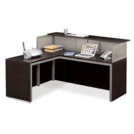 At Work Left L Reception Desk, D35196