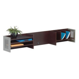 "At Work Desk Organizer Hutch 72""W, B34295"