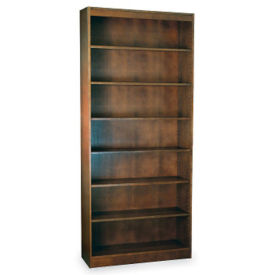"Seven Shelf Reinforced Bookcase 84'""High, L40318"