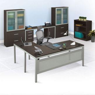 At Work L-Desk Office Suite, D30349