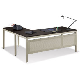 At Work Reversible Executive L-Desk, D35163