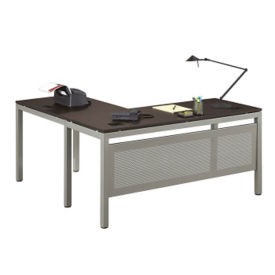 "At Work Reversible L-Desk - 60""W, T11274"