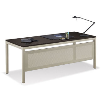 "At Work 72""W x 30""D Table Desk with Modesty Panel, T10209"