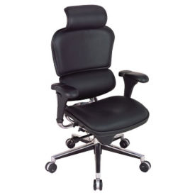 High Back Leather Chair, C80134
