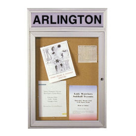 "Bulletin Board with Header 24""x36"", B20478"