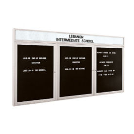 "Indoor Directory Board 96""X48"", B20602"