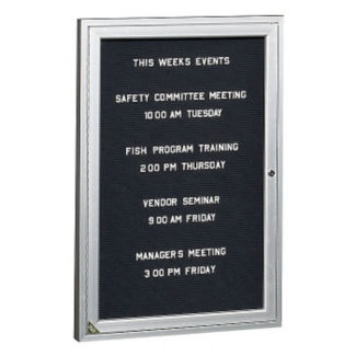 "Bronze Tone Indoor Directory Board 18""x24"", B20627"