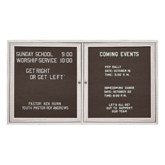 "Outdoor Directory Board 60""wx36""h, B20715"