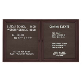 "Outdoor Directory Board 60""wx48""h, B20726"