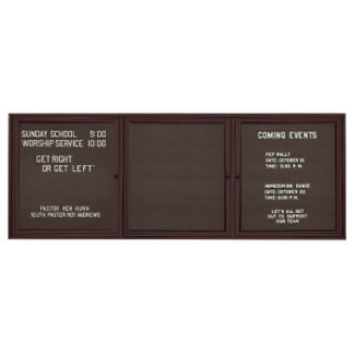"Outdoor Directory Board 96""wx48""h, B20729"
