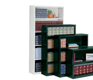 Five Shelf Steel Bookcase, D32067
