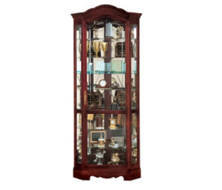 Jamestown Corner Display Case, B34261