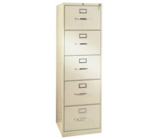 Five Drawer Letter Size Vertical File, L40337