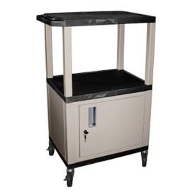 "Tuffy Utility Cart with Cabinet 42"" high, D43072"