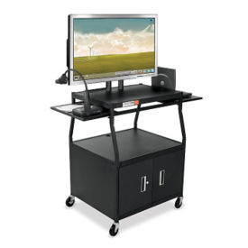 Wide Body Flat Panel TV Cart, M13043
