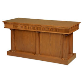 Closed Communion Table, C30116