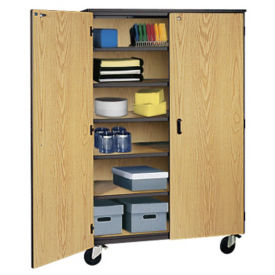 Teacher Storage Cabinet on Wheels, D31152