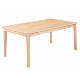 "48"" Square Child-Height Library Table, K10010"