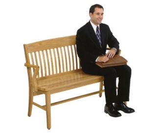 "Wood Bench 53"" Long, W60150"