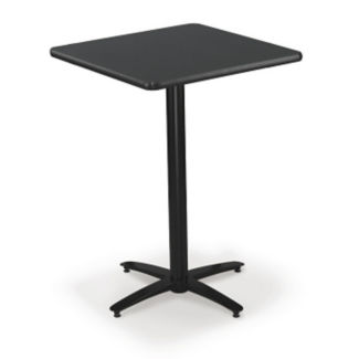 "36"" Square Bar-Height Pedestal Table, K00019"