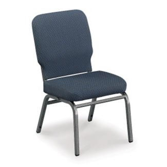 Armless Vinyl Wing Stack Chair, C67815