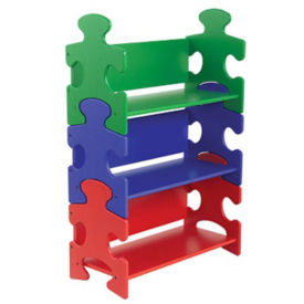 Puzzle Shaped Bookcase, P30190