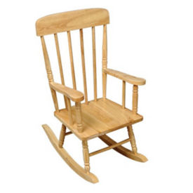 "Child-Sized Rocking Chair 11-3/4""H Seat, P30211"
