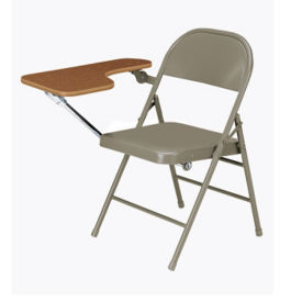 Folding Chair with Folding Tablet Arm Right Side, C57774