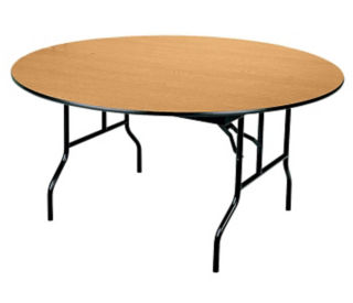 "Banquet Folding Table 60"" Round, D41150"
