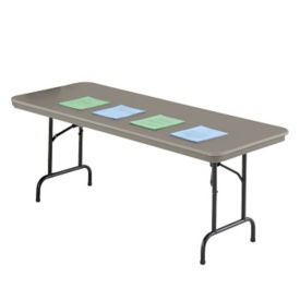 Compare Duralite Folding Table 30 Wide X 96 Long