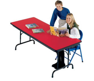 "Folding Table 30"" W x 60"" D, D41819"