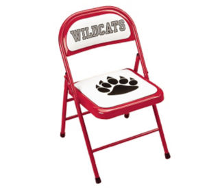 "Mascot Folding Chair with 5/8"" Thick Seat, C57779"