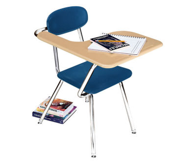 Compare Chair Desk With Right Tablet Arm, D57140