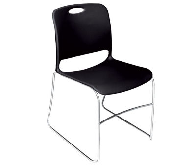 Compare KI Maestro Poly Stack Chair With Glides, D58109