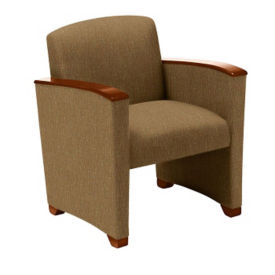 Fabric Guest Chair with Arms, W60716
