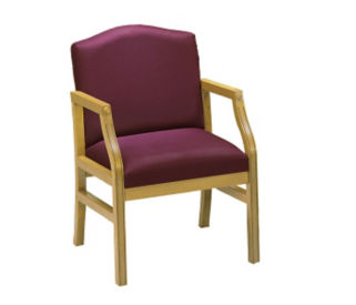 "Pulpit Chair with 34"" Low Back, C30054"