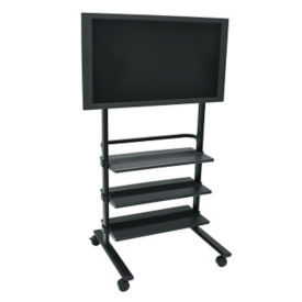 Mobile Flat-Panel TV Cart, M13147