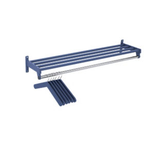 Wall Mounted Coat Rack 3' Wide, D90002