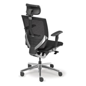 Arris Fabric Mesh Chair with Headrest, C80266